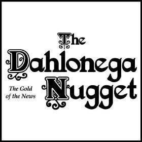 The dahlonega nugget logo