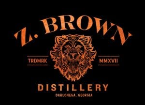 Z Brown distillery logo