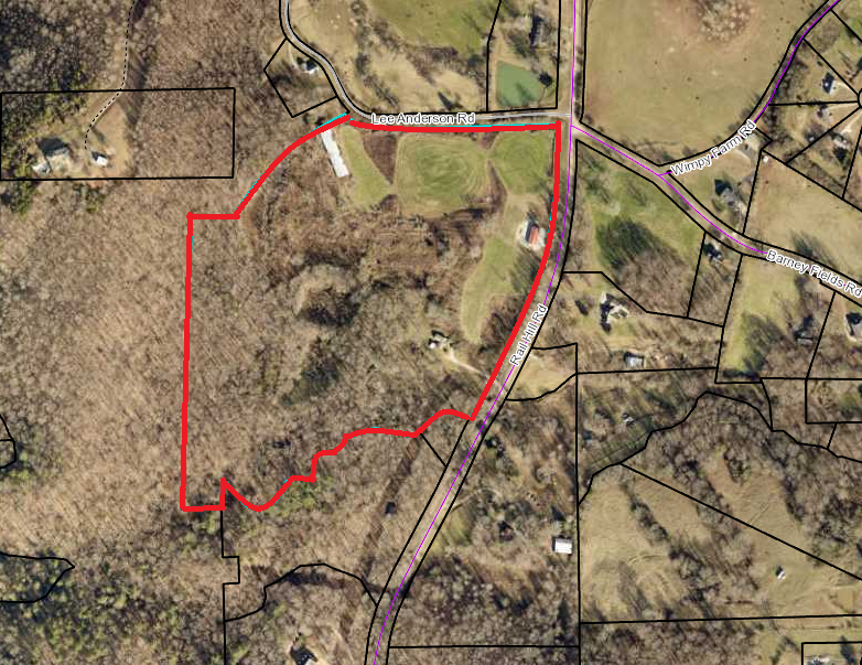 34.5 ac Zoned Rural