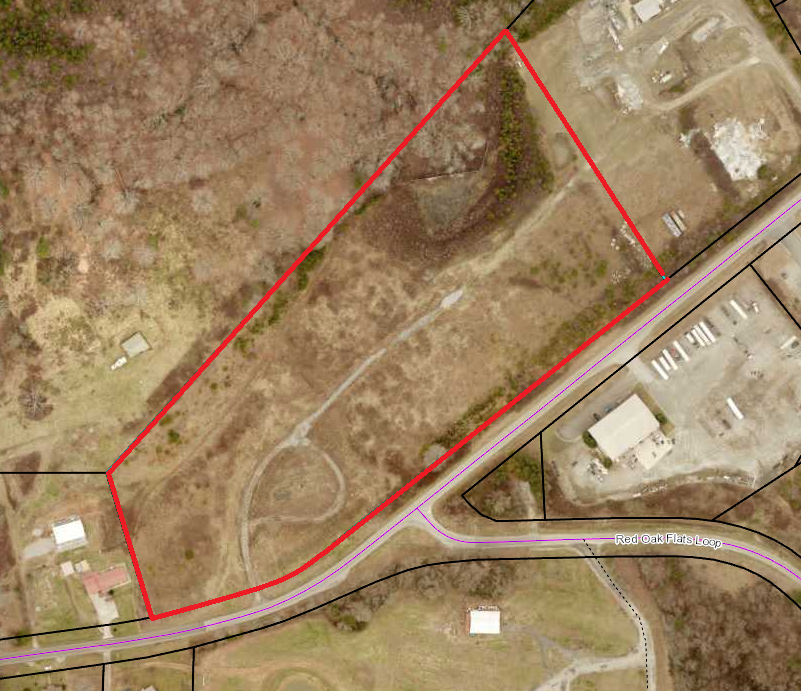 13.3 ac Zoned Industrial