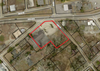 .84 ac Zoned Central Business District