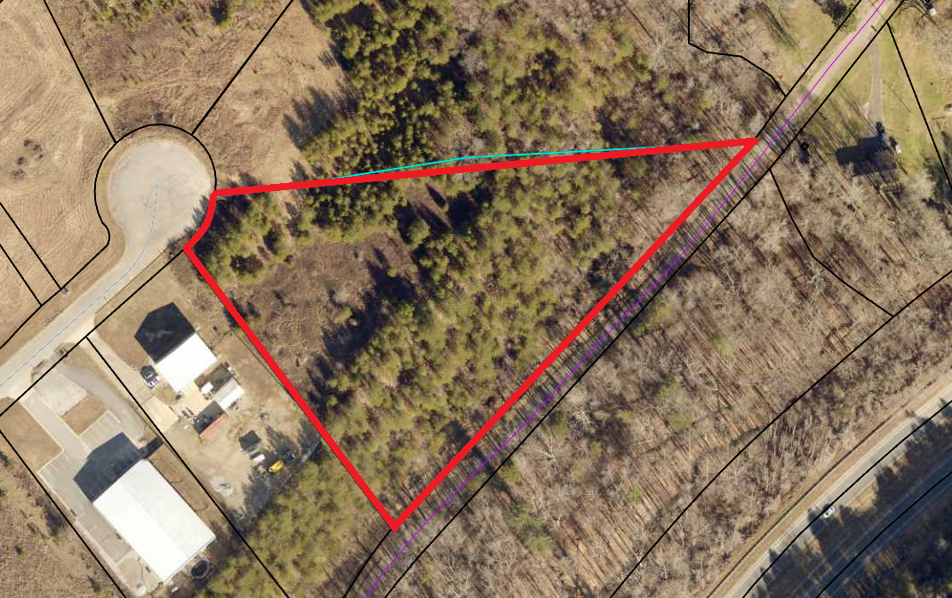 3.68 ac Zoned Industrial