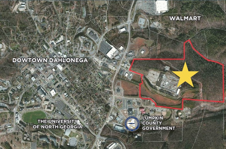 40 ac Zoned Planned Unit Development & Industrial