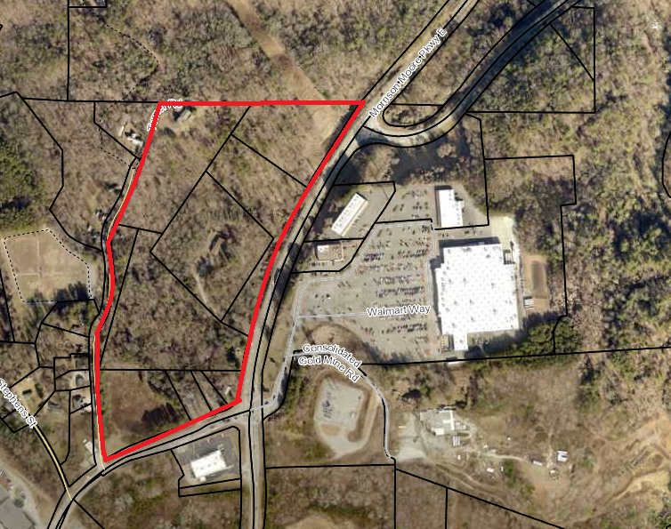 22.054 ac Zoned Commercial & Residential